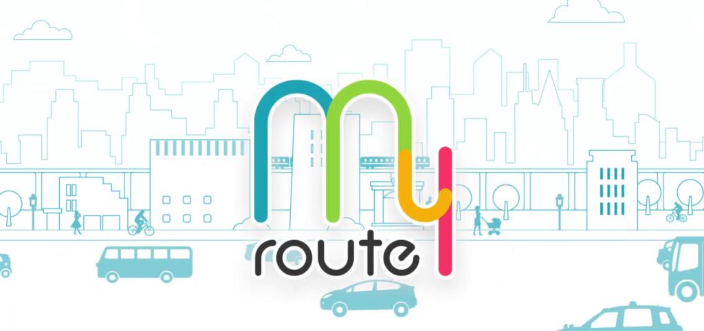 アプリmy route[マイルート]の評価・口コミ情報